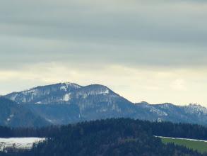 Photo: Reisalpe, Hochstaff und Schwarzkogel im Zoom