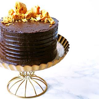 Cinder Toffee Bonfire Cake.
