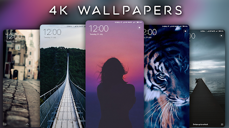 4K Wallpapers - Auto Wallpaper Changer APK screenshot thumbnail 2