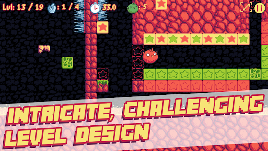 Pichon: The Bouncy Bird - Cute Puzzle Platformer Screenshot