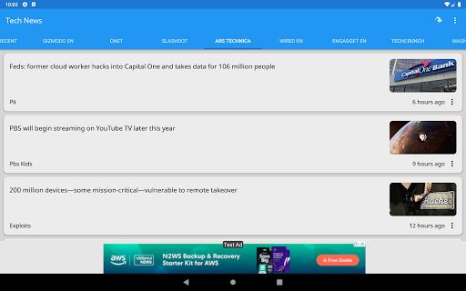 Tech News 1.9.1 Screenshots 9