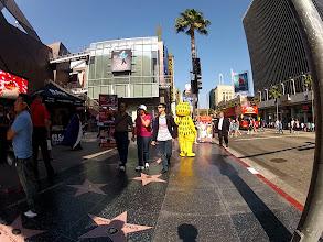 Photo: The Hollywood Walk of Fame (Fisheye)