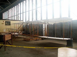Photo: Replica of Wright Flyer