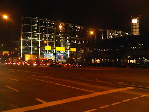 Photo: Berlin Hauptbahnhof at Night