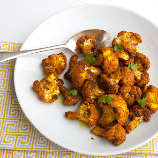 Spiced Oven Roasted Cauliflower.