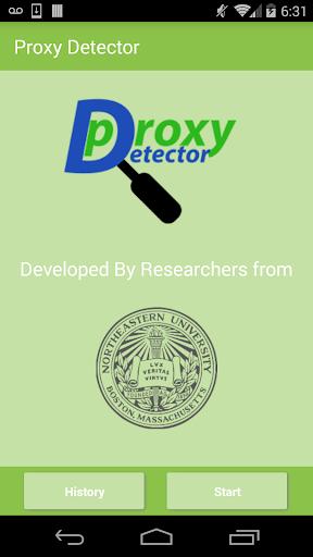 Proxy Detector