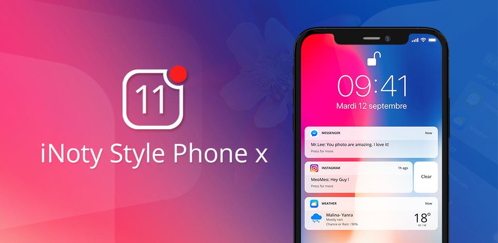 Download iNoty 11 – Control Panel Phone X APK latest version