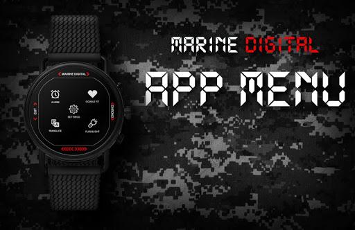 Marine Digital 2 Watch Face & Clock Live Wallpaper 1.07 screenshots 9