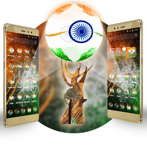 3D I Love My India Theme