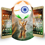 3D I Love My India Theme Icon