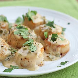Sea Scallops With Cream Sauce Recipes.