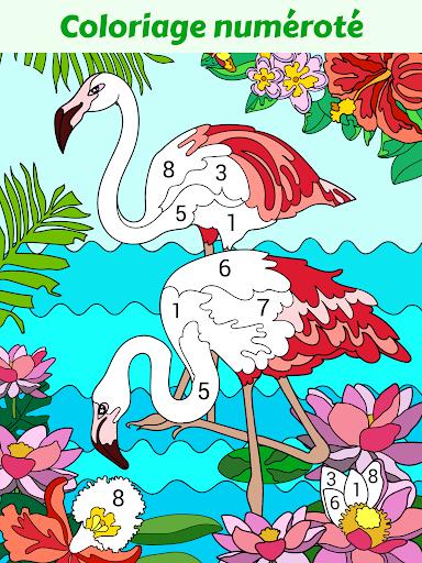 Happy Color Jeux De Coloriage Par Numeros Applications Sur