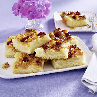 Pear and Cranberry Squares