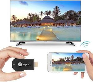 Telefonul devine TV: Anycast Dongle M9 Plus HDMI