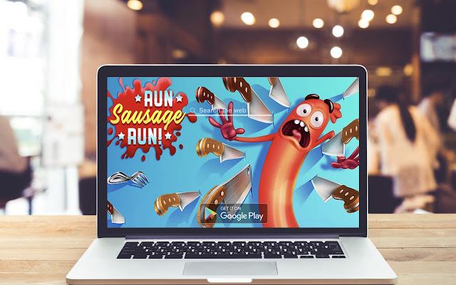 Run Sausage Run! HD Wallpapers Game Theme