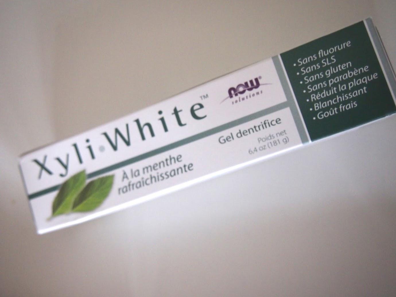 Now Foods, ソリューション、Xyli−White(エキシリルホワイト)歯磨きジェル、リフレッシュミント、6.4 oz (181 g)