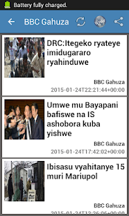Burundi Newspapers- screenshot thumbnail