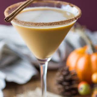 Pumpkin Spice Latte Martini.