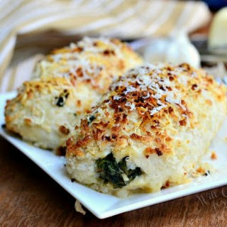 Asiago Spinach & Mushroom Chicken Rollatini
