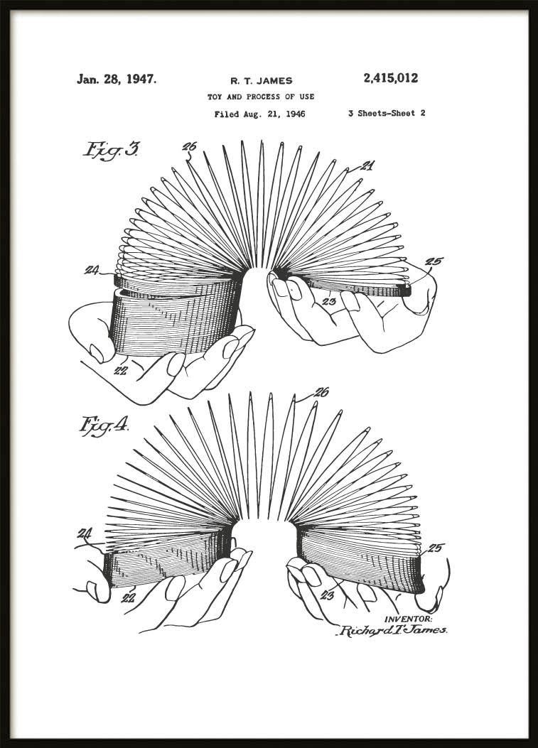 Patent Poster Slinky