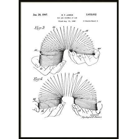 Patent Poster Slinky