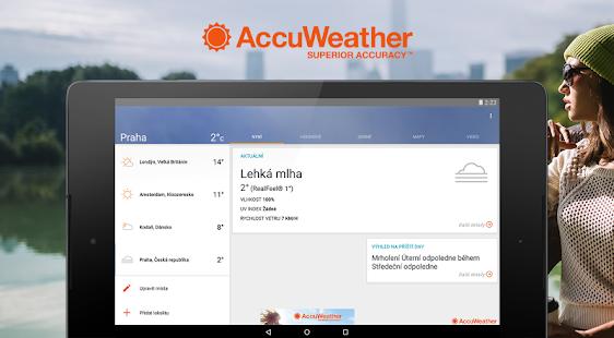AccuWeather Počasí - náhled