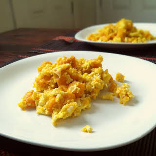 Thai Style Stir-Fried Butternut Squash with Eggs.
