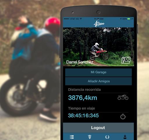 4Riders: Motociclistas y Rodadas 5.22 screenshots 2