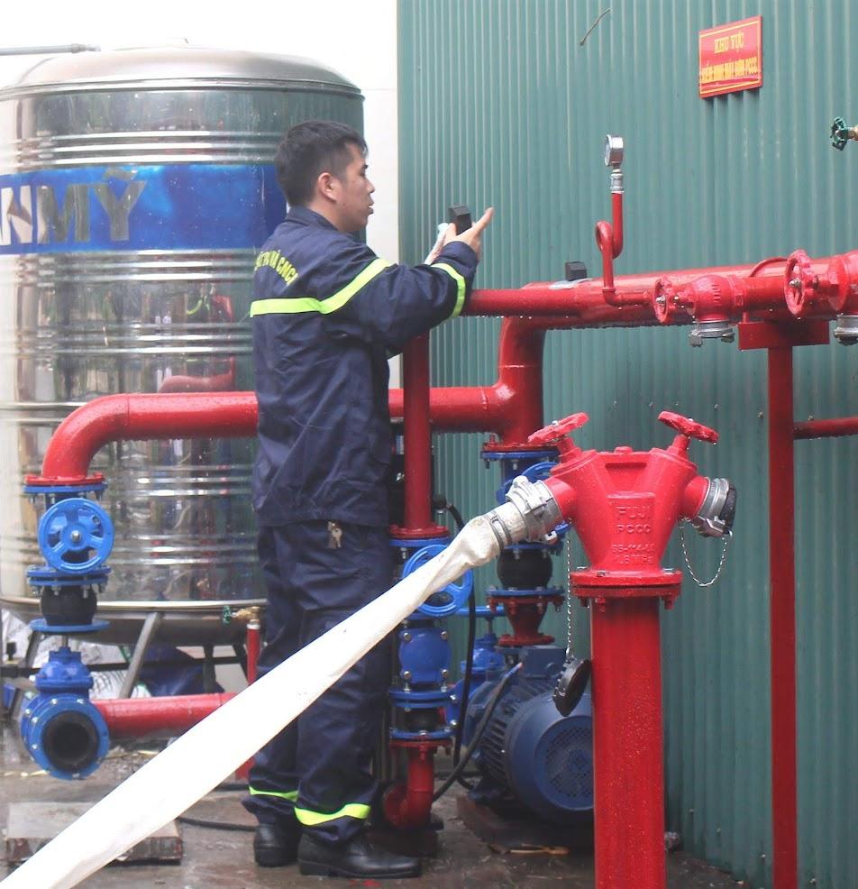 Kiểm tra các phương tiện, thiết bị phục vụ công tác kiểm định phương tiện PCCC