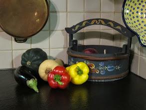 Photo: Still Life with Rosemaling http://en.wikipedia.org/wiki/Rosemaling