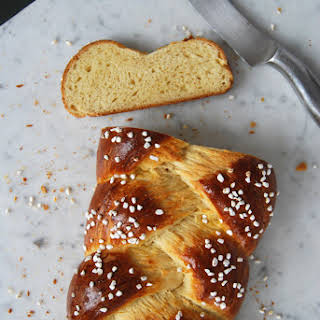 Sweet and Braided Yeast Bread.