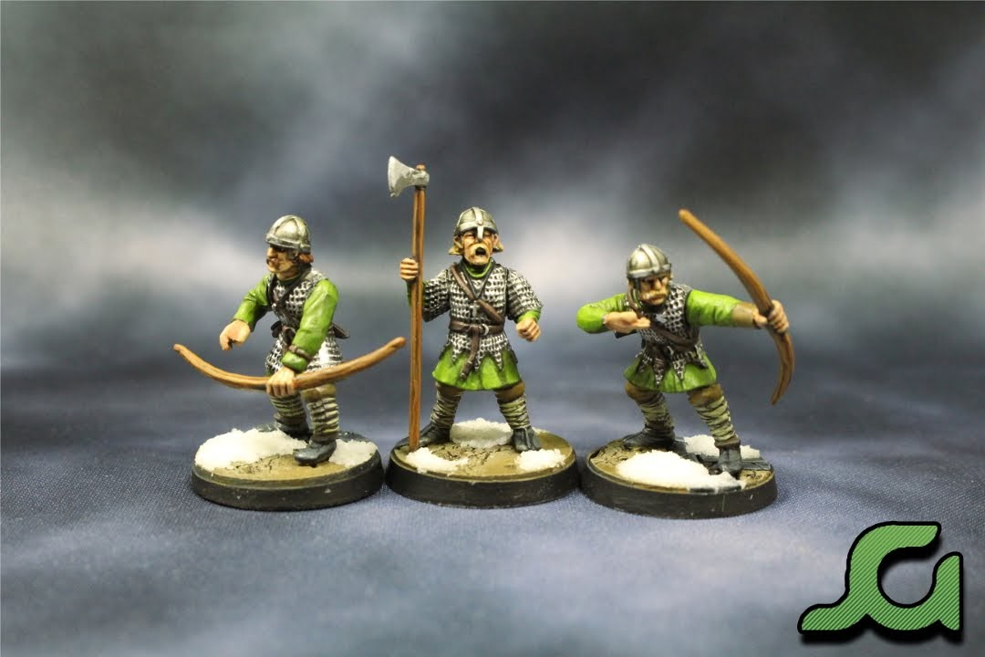 Archers and Infantryman