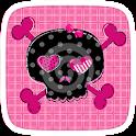 Girly Skull icon
