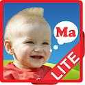 Learn to speak read words kids icon
