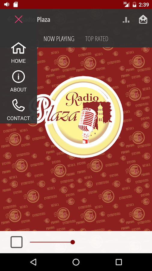 Radio Plaza- screenshot