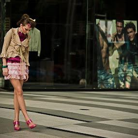 Street Chick by Hengki Lee - People Portraits of Women
