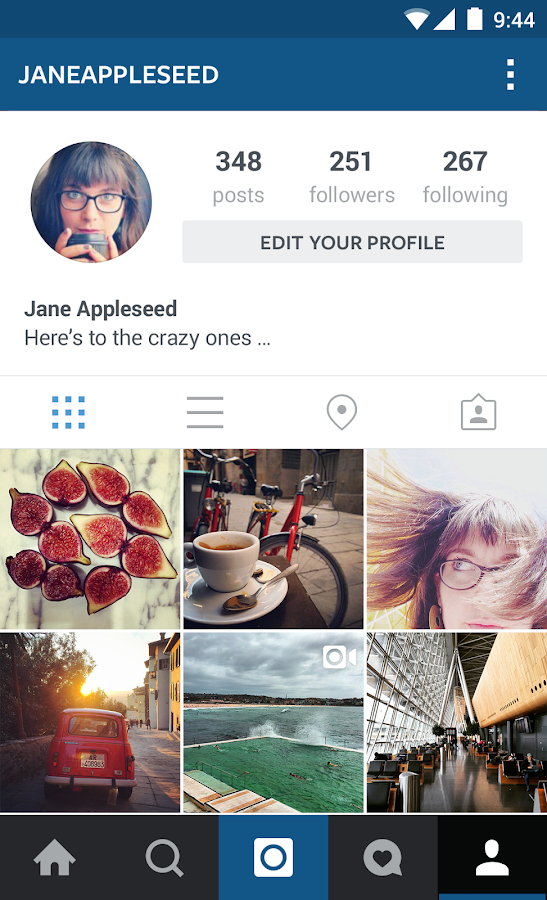how to see private instagram photos app