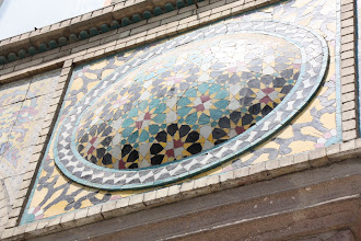 Photo: Day 138 - Mosaic on a Building in  Golestan Palace, Tehran