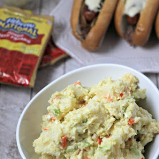 """Not So"" Amish Potato Salad"