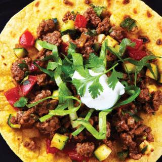 Sloppy Open-Faced Tacos
