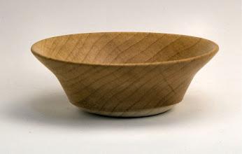"Photo: Elliot Schantz - Bowl - 4"" x 1 1/8"" - maple - (maple block design challenge entry)"