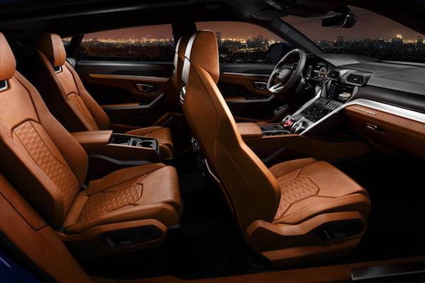 ภายในยังคงความหรูหราสปอร์ต อัดแน่นด้วยเทคโนโลยีในสไตล์ Lamborghini