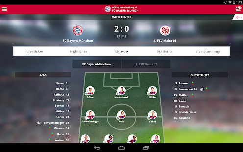 FC Bayern Munich- screenshot thumbnail