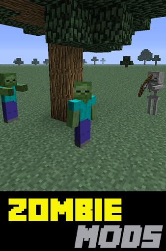 Zombie Mods For Minecraft