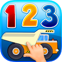 Counting number games for kids icon