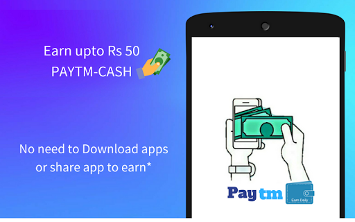 Earn Daily : Paytm Cash for PC