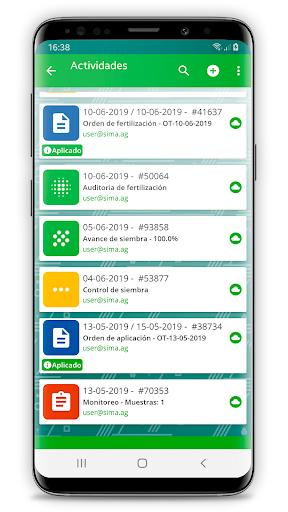 SIMA Monitoreo de Cultivos android2mod screenshots 5
