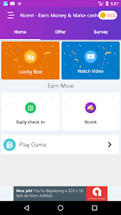 Ncent - Earn Money and Make cash - náhled