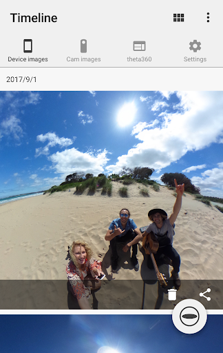 RICOH THETA screenshot 2