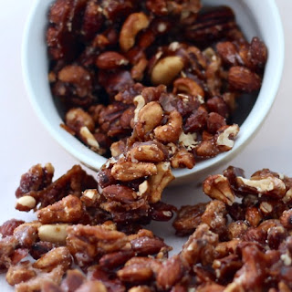 Cinnamon Spice Candied Nuts